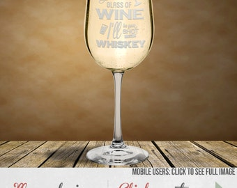 Wine Glasses With Saying - Beautifully Etched