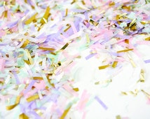 Unicorn Confetti, Pastel Confetti, Unicorn Party Confetti, Unicorn Kids Party, Unicorn Photo Prop, Unicorn Baby Shower, First Birthday
