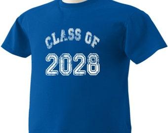 Class Of 2028 T-Shirt Graduation Gift