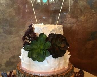 Wedding Cake Topper, Mr &Mrs Cake Topper, Cake Topper, Mr and Mrs, Wedding Cake Bunting, Wedding Cake Banner, Wedding Cake, Cake Bunting