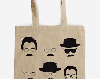 """Tote bag """"Let's Cook"""" Heisenberg Breaking Bad,"""