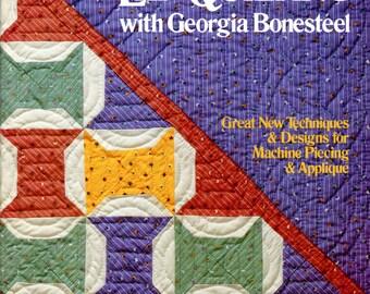 More Lap Quilting With Georgia Bonesteel | Craft Book