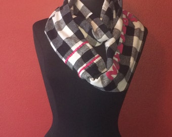Repurposed/ Upcycled One Direction Infinity Scarf