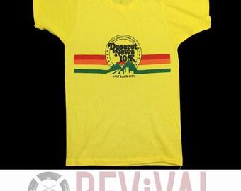 Vintage Rainbow Run T-Shirt ~ Size XXS