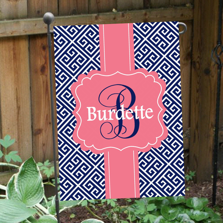 personalized flag double sided garden flag house flag key