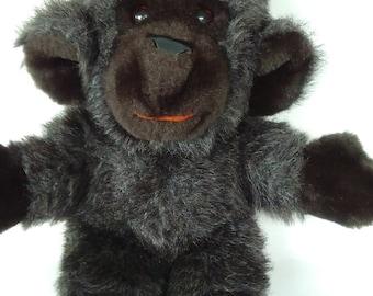 "Vintage 1979 Gund Chimpanzee/Chimp Collector's Classics Monkey Vintage Plush Stuffed Animal 13"" Gund Monkey Stuffed Animal Collectible"