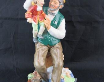 Royal Doulton Classic Figurine HN 2253 - The PUPPETMAKER Circa 1960's