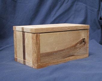 A three wood storage box