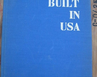 Built in USA Book 1930's 1940's Architecture Museum of Modern Art MOMA - Architects Modern Mid Century American Frank Lloyd Wright Gropius