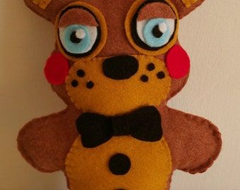 Handmade fnaf toy Freddy (unofficial)Five Nights at Freddy's,fnaf plush,fnaf bonnie,fnaf peluche,fnaf,toy bonnie plush
