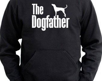 The dogfather English Coonhound Hoodie