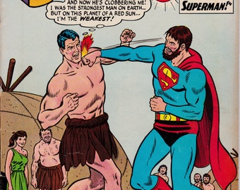 Superman #171   August 1964    DC Comics   Grade VG/F