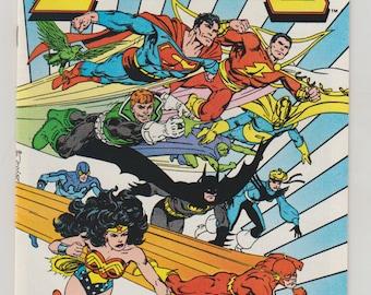 Legends; Vol 1, 6 Copper Age Comic Book. NM- April 1987.  DC Comics