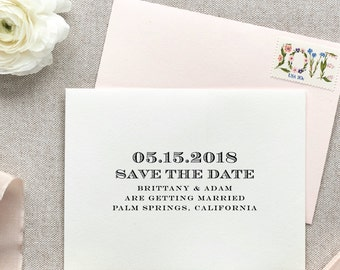 Save the Date Rubber Stamp, Personalized Save the Date Stamp, Rubber Stamp Save the Date, Custom Save the Date Stamp, Save the Date Stamp