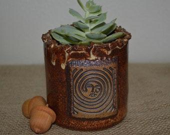 Planter, herb planter, succulent planter, ceramic planter, spoon holder, pencil holder, toothbrush holder, garden planter