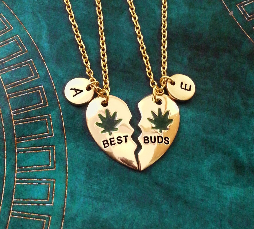 best buds necklace set buds necklaces pot leaf necklace