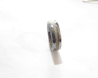 Carbon Fiber Woven Tungsten Ring