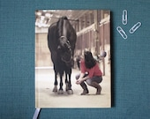 Custom Hard Cover Journal // Custom Photo Journal // Wedding Planner // Blank Journal // Photo Album Notebook // Trip Journal