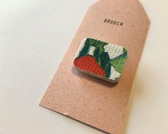 Original brooch - forest I