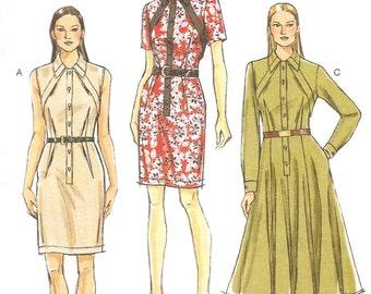 Vogue 9077 - Shirt-waist Dress