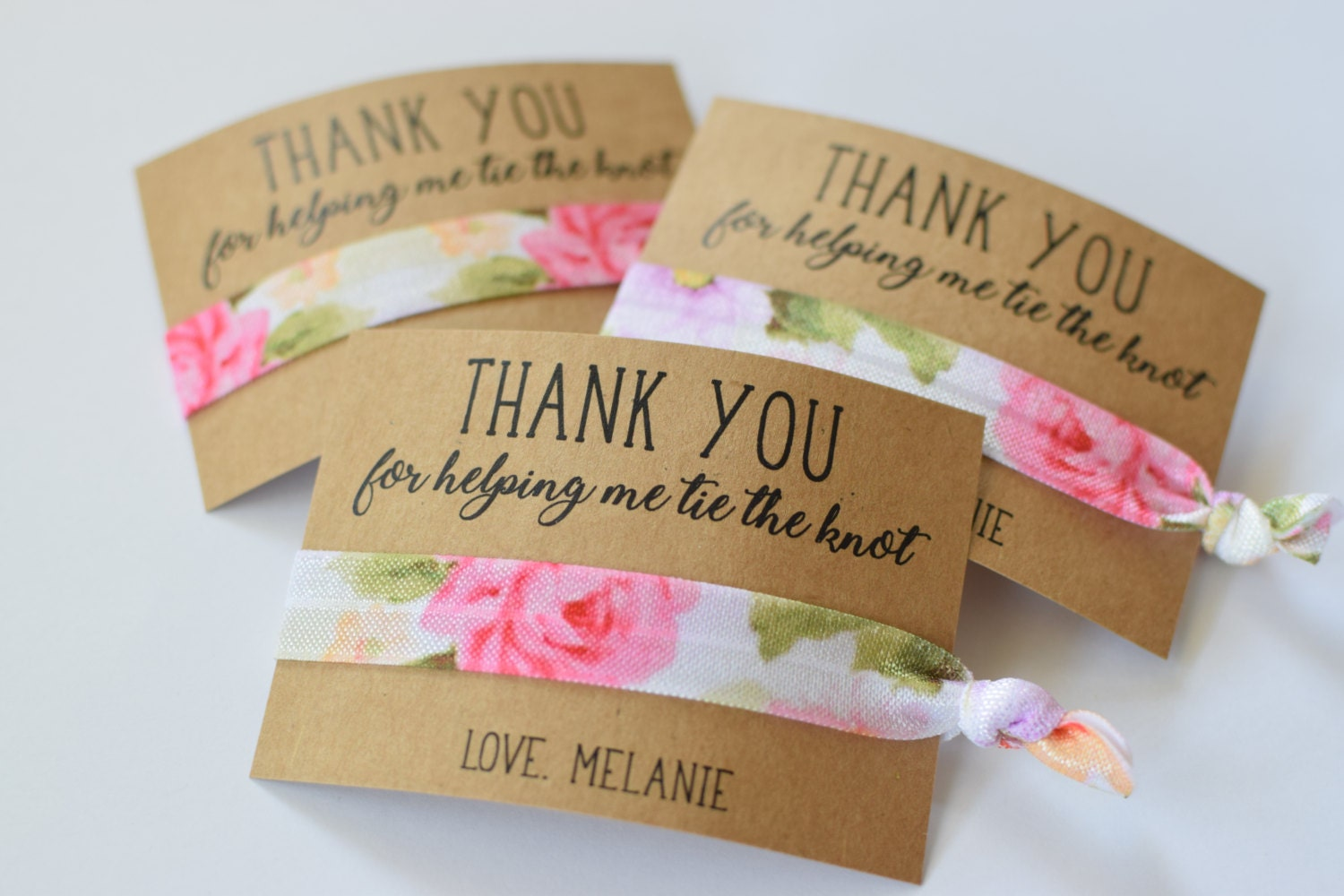 Me To You Wedding Gifts: Thank You For Helping Me Tie The Knot / Wedding Party Favors