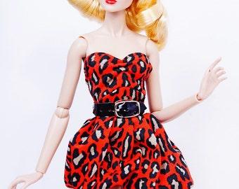 clothes for Fashion Royalty dolls (dress+belt): Adusa