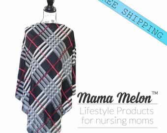 Nursing Cover Poncho, Nursing Poncho, Nursing Cover, Breastfeeding Poncho, Nursing Shawl, Breastfeeding Cover, Full Nursing Cover, New Mama