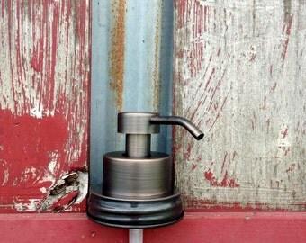 Mason Jar Foaming Soap Dispenser   DIY Ball Mason Jar Soap Dispenser   Foaming Bronze Soap Pump   Eco   Mason Jar Accessories   Housewarming