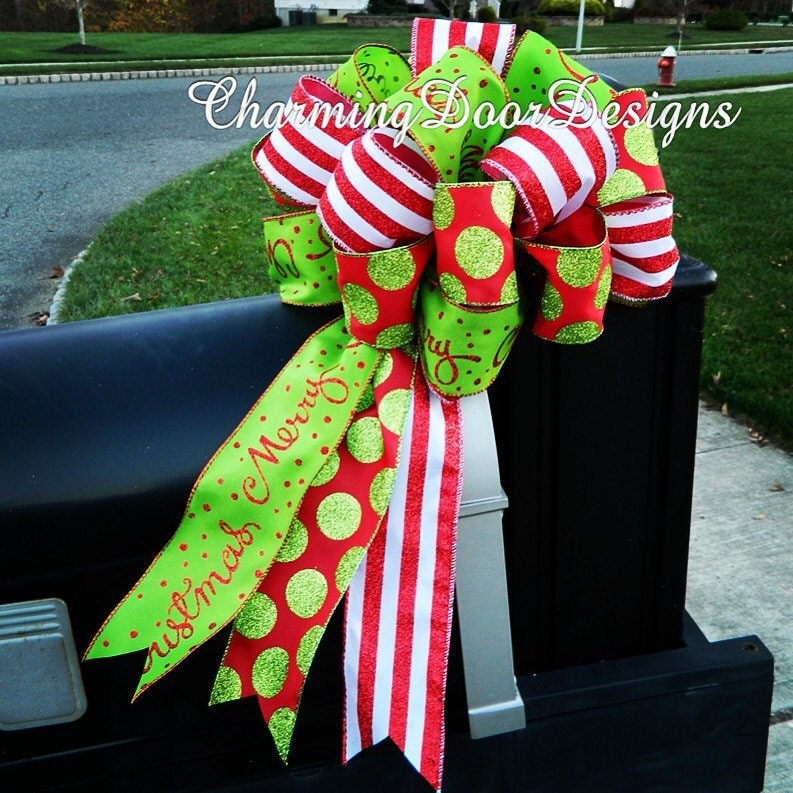 Whimsical Large Bow Topper