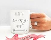 Engagement Mug / Cute Gif...