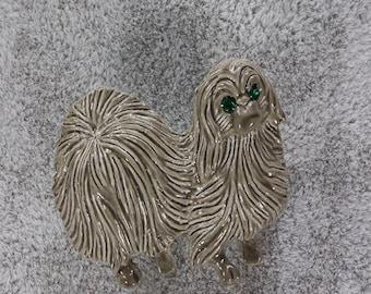 1950s Gerrys Pekingese Pin