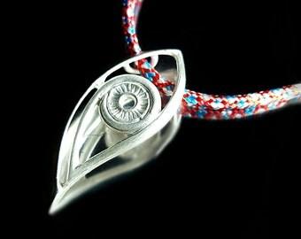 Evil Eye Necklace Evil Eye Pendant Necklace Evil Eye Charm Necklace Mens Evil Eye Necklace Mens Gift Mens Necklace Silver Gift For Him