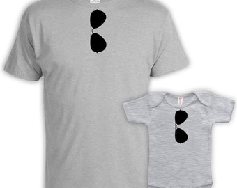 Father Son Matching Shirts Father And Son Gift Daddy And Me Outfits Father And Baby Shirt Dad Gifts Top Dad Top Son Baby Bodysuit DN-664