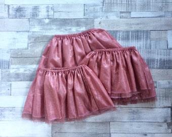 Pink Baby Girls Tutu | Tutu Skirt | Sparkly Pink Tutu | Pink Tutu | Glittery Skirt | Baby Tutu | Pink Skirt | Baby Girls Skirt