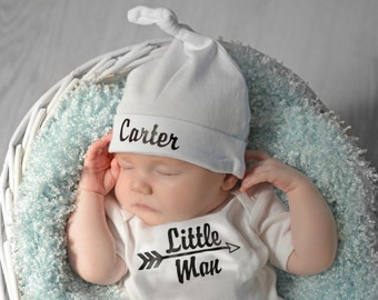 baby boy coming home outfit boy outfit baby boy outfit newborn boy outfit newborn boy bodysuit personalized baby hat little man