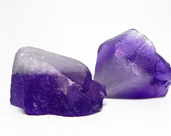 Rough Cut Amethyst Handmade Soap - Choose your Scent