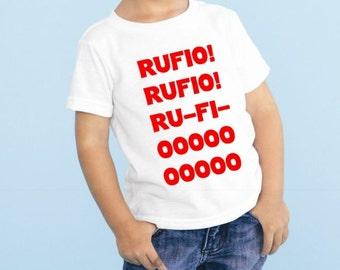 Hook's Rufio! Rufio! Ru-Fi-OOOOOO Baby Newborn Bodysuit Outfit Lostboys Peter Pan Tshirt Lost Boys Tshirt