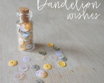 Planner Sequins - 'Dandelion Wishes'