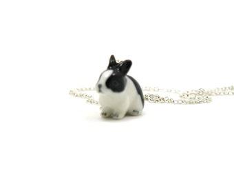 Rabbit Necklace, Charm Necklace, Charm Jewelry, Rabbit Pendant, Rabbit Jewelry, Rabbit Charm, Jewelry Gift, Bunny Necklace, Bunny Charm