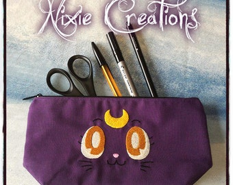 Pencilcase Beautycase Luna - Pretty Guardian Sailor Moon inspired