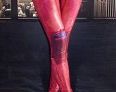 NEW! TAFI Deadpool : Movie Leggings 2016 Custom Design Affordable Yoga Pants Wade Wilson Marvel Hero Costume CosPlay Print