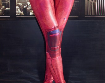 NEW! TAFI Deadpool : Movie Leggings Custom Design Affordable Yoga Pants Wade Wilson Marvel Hero Costume CosPlay Print