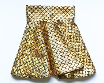 Mermaid Circle Skirt for Girls