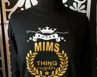 Personalized Hoodie/Tee with Family Name