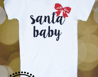 Santa Baby Outfit for Baby or Toddler