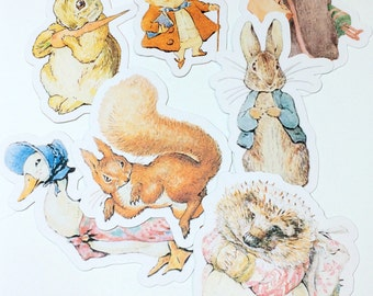 Die Cuts - Beatrix Potter,Paper Embellishments,Cut Out,Scrapbook Supplies,Scrapbooking Cut Out,Peter Rabbit Die Cut,Peter Rabbit Baby Shower