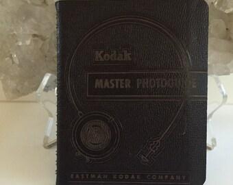 Vintage 1953 Kodak Master Photoguide