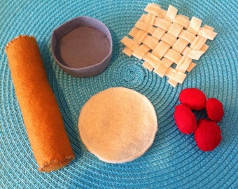 Felt Pie Making Set