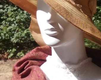 Edwardian Summer Hat - Pristine Condition