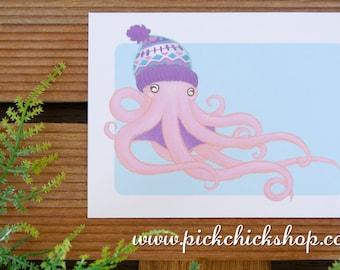 Print Octopus Lananimals